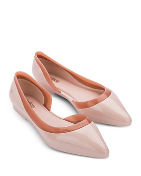 Melissa - Women's Cleo Ad Pointed Toe Bubble Gum Scented Flats