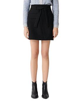 Maje - Josina Crossover Skirt