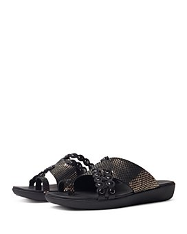FitFlop - Women's Scallop Exotic Slide Sandals
