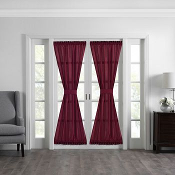 """Elrene Home Fashions - Colette French Door Window Panel, 54"""" x 72"""""""