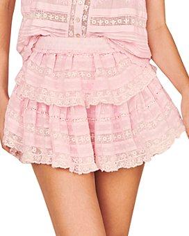 LoveShackFancy - Ruffled Mini Skirt