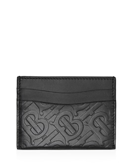 Burberry - Monogram Leather Card Case