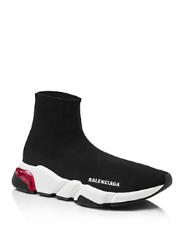 Balenciaga - Women's Speed Light Clear Sock Sneakers