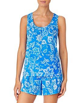 Ralph Lauren - Cotton Knit Boxer Shorts Pajama Set