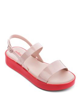 Melissa - Women's Strappy Slingback Platform Sandals