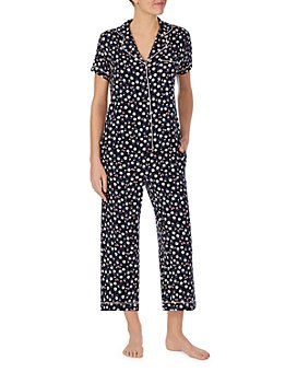 kate spade new york - Printed Cropped Pajama Set