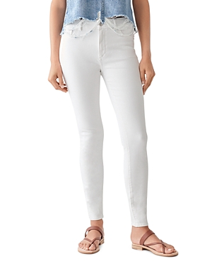 1961 Florence Instasculpt Skinny Jeans in Milk
