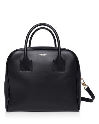 Burberry Medium Leather Cube Bag  | Bloomingdale's
