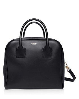 Burberry - Medium Leather Cube Bag
