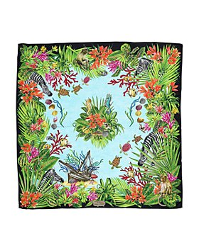 Echo - Hidden Treasure Square Silk Scarf