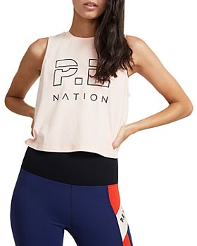 P.E NATION - Fastest Lap Cotton Tank Top