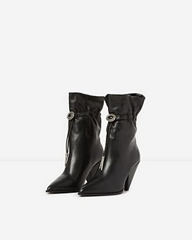 The Kooples - Women's Mid High Western Boots