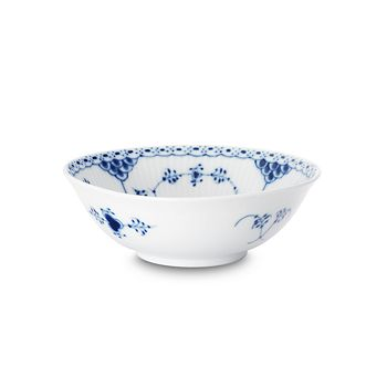 "Royal Copenhagen - ""Blue Fluted Half Lace"" Cereal Bowl"