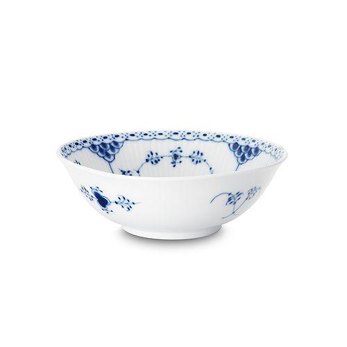 "Royal Copenhagen - ""Blue Fluted Half Lace"" Cereal Bowl"