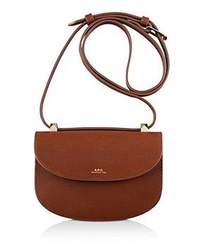 A.P.C. - Geneve Mini Leather Shoulder Strap