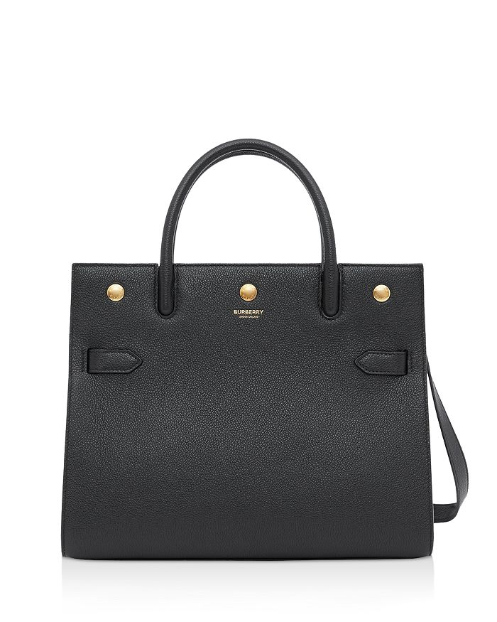 Burberry - Title Small Leather Shoulder Bag