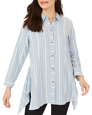 Foxcroft Edison Striped Tunic-Women
