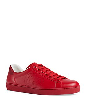 Gucci - Men's Ace Interlocking G Low-Top Sneakers