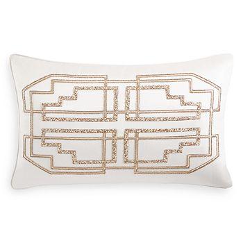 "Hudson Park Collection - Connettiva Decorative Pillow, 22"" x 12"""