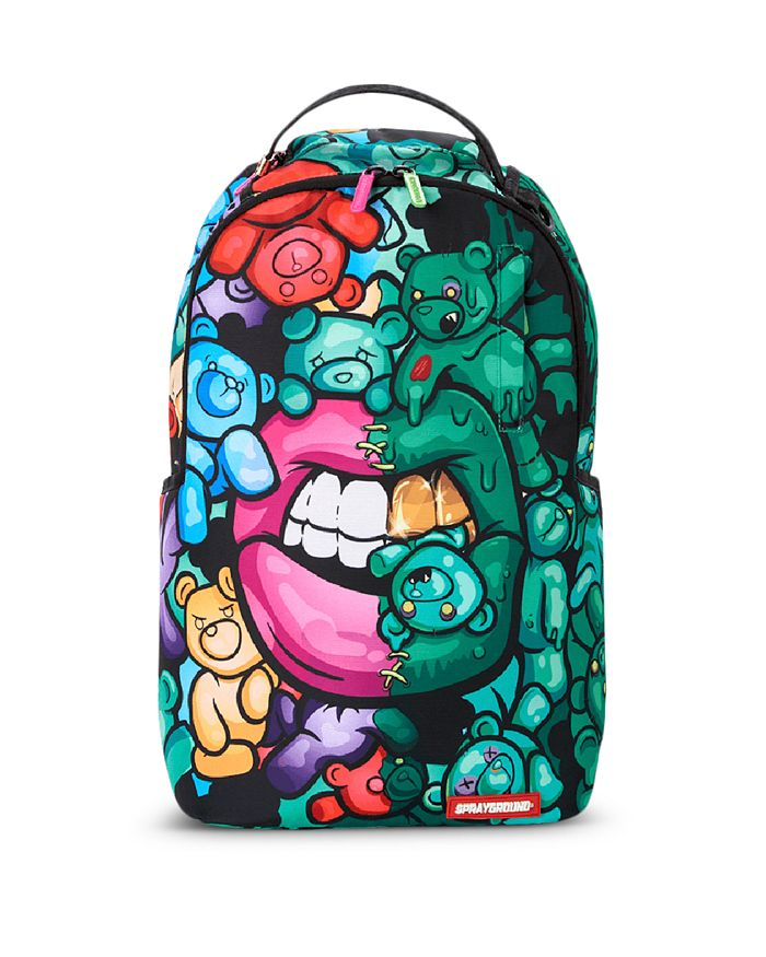 Sprayground - Unisex Zombie Gummy Bear Lips Backpack