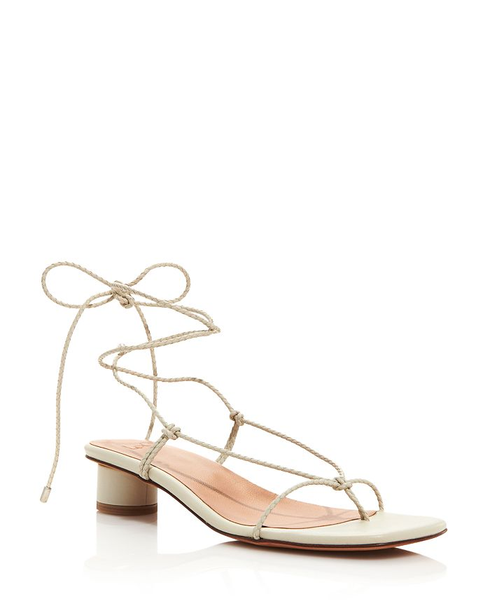 LoQ - Women's Dora Trenzado Braided Barely There Strappy Sandals