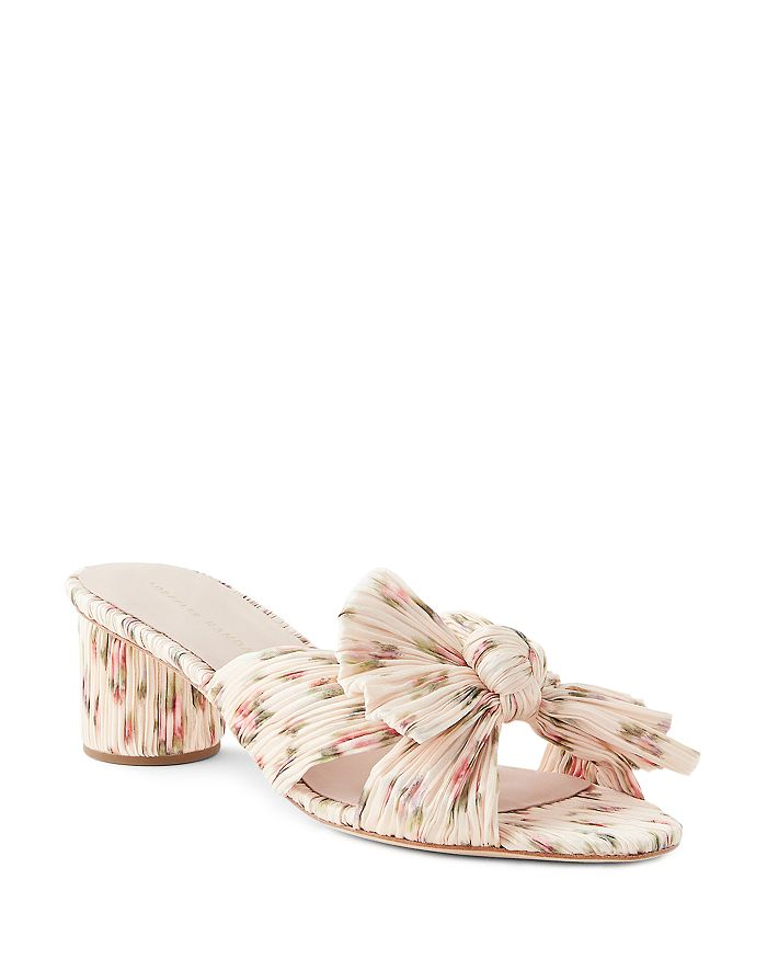 Loeffler Randall Women's Emilia High-heel Slide Sandals In Warp Floral