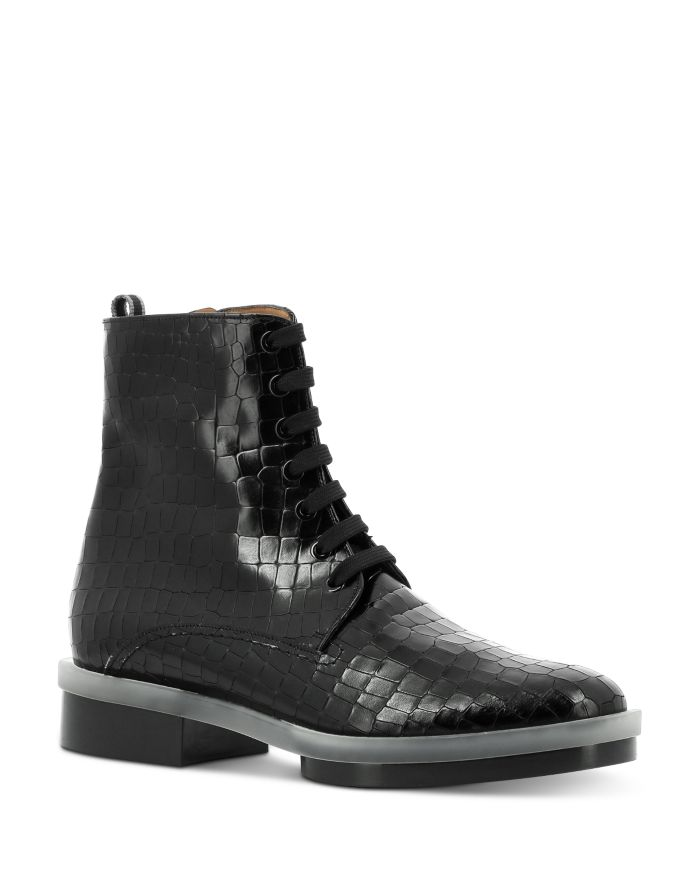 Clergerie Women's Robyn Lace Up Booties    Bloomingdale's