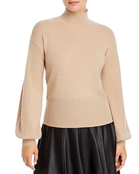C by Bloomingdale's - Balloon Sleeve Cashmere Sweater - 100% Exclusive