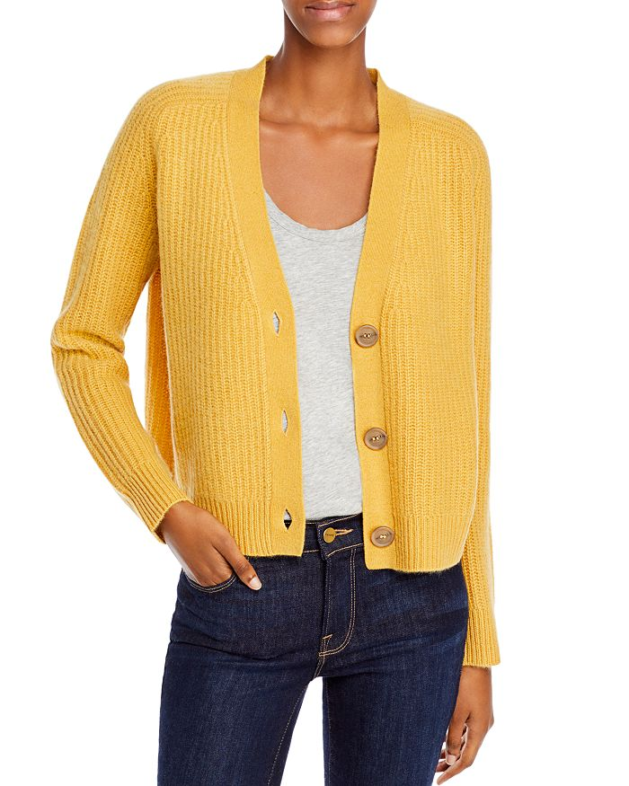 C by Bloomingdale's - Cropped Cashmere Cardigan - 100% Exclusive
