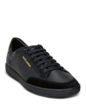 Saint Laurent - Men's Perforated Low Top Sneakers