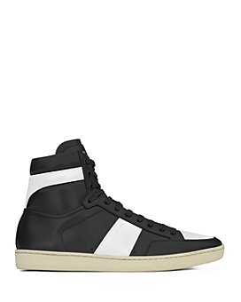 Saint Laurent - Men's Court Classic SL/10H High Top Leather Sneakers