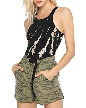 PAM & GELA - Tie Dyed Skinny Tank Top