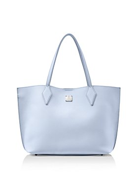 MCM - Yris Medium Leather Shopper