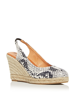 Andre Assous Women\\\'s Raisa Slingback Espadrille Wedge Sandals