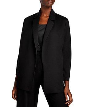 Eileen Fisher Plus - Notch Collar Jacket