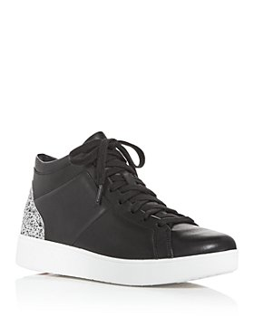 FitFlop - Women's Rally Glitter Lace Up Sneakers
