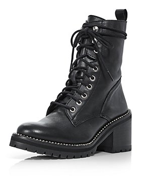 AQUA - Women's Ray Lace Up Boots - 100% Exclusive