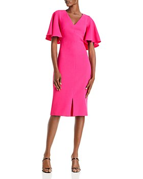 Eliza J - Flutter Sleeve Sheath Dress