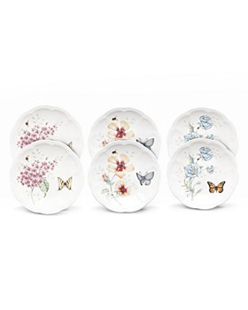 Lenox - Butterfly Meadow 6-Piece Party Plate Set