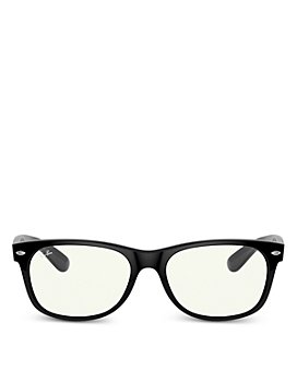 Ray-Ban - Unisex Square Blue Light Glasses, 57mm