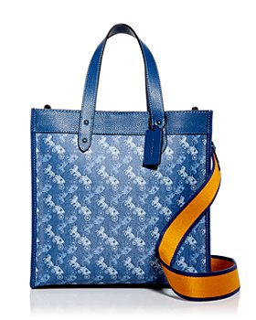 COACH - Field Small Logo Print Tote