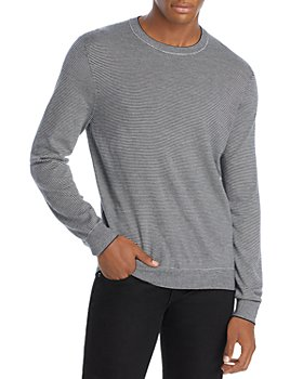 Vince - Featherweight Striped Wool & Cashmere Sweater