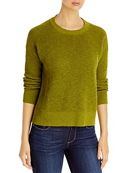 Eileen Fisher - Organic Linen & Cotton Crewneck Sweater