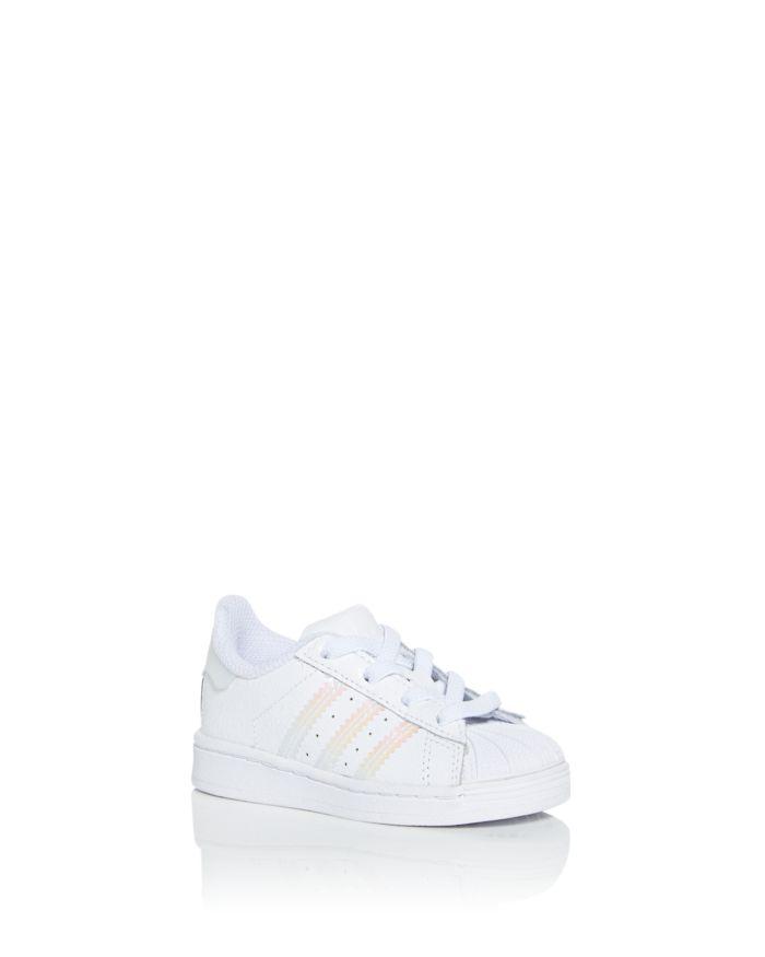 Adidas Girls' Superstar Low Top Sneakers - Walker, Toddler  | Bloomingdale's