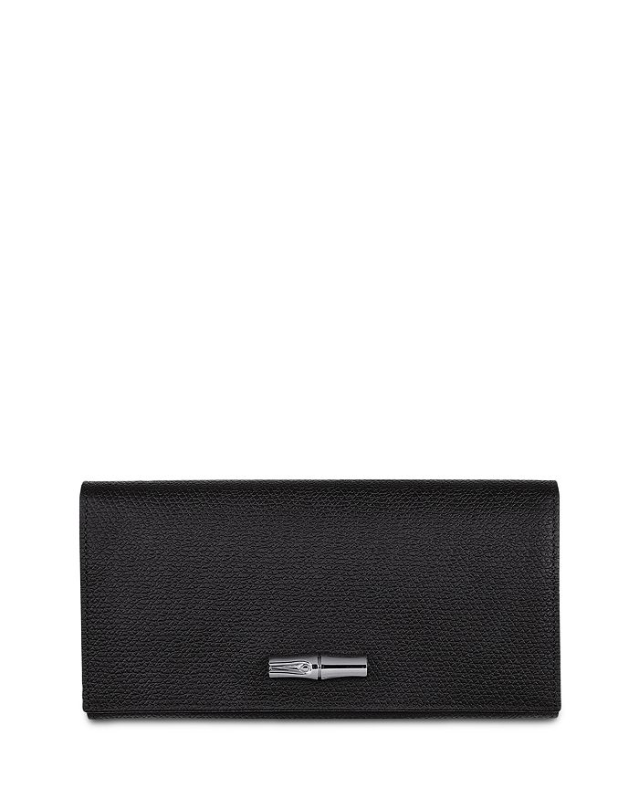 Longchamp - Roseau Leather Continental Wallet