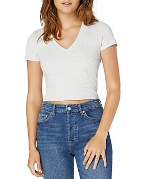 Beyond Yoga - Remix Cropped Tee