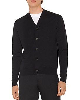 Sandro - Wool Button Cardigan