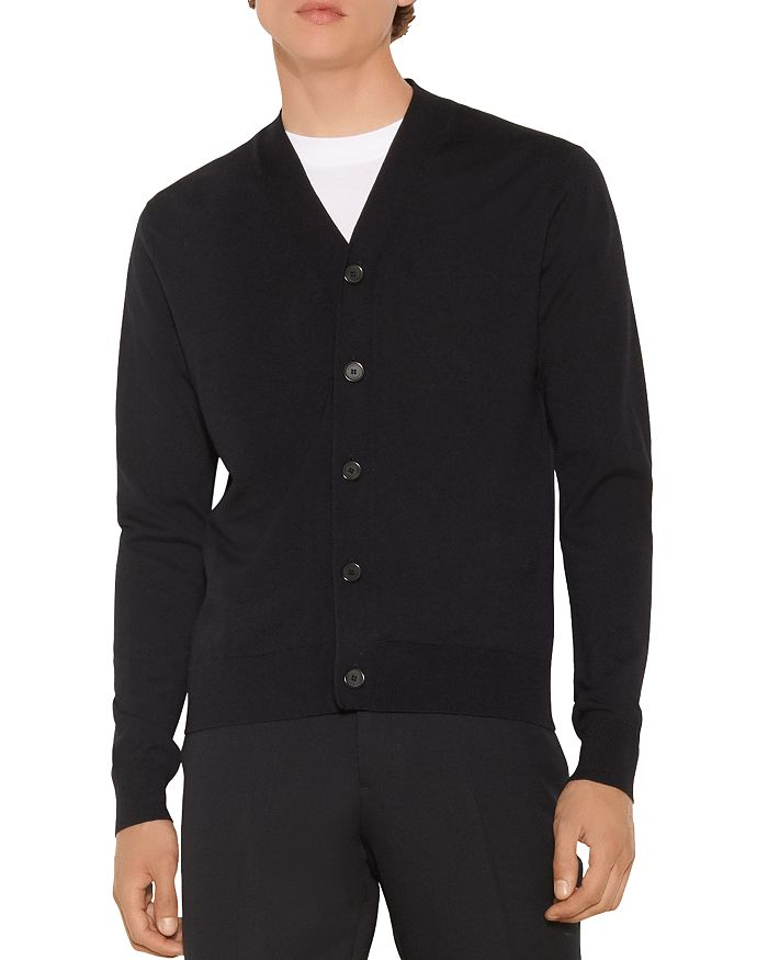 Sandro - Wool Button Cardigan