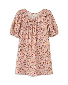 Peek Kids - Girls' Floral Print Dress - Little Kid, Big Kid