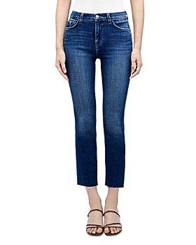 L'AGENCE - Sada High Rise Crop Slim Jeans in Crescent
